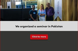 We organized a seminar in Pakistan